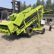 移动式青贮取料机电动 结合养殖场需要定制取料车 高空七米取料机