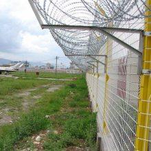 机场安全网铝包钢勾花网安装