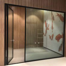 玻璃隔墙,百叶隔墙,单层玻璃隔墙,全景玻璃隔墙