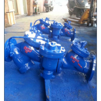 铸钢法兰滚球式球形止回阀生产厂家