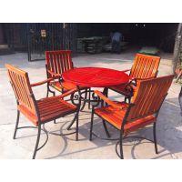 户外家具实木桌椅 实木家具 沙滩椅 户外沙发