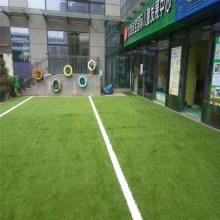 聚乙烯幼儿园草皮网 绿化庭院人造草皮网 铺设施工专用草皮网