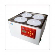 电热恒温水浴锅HH.S21-4,实验室2列4孔水浴锅,数显水浴锅