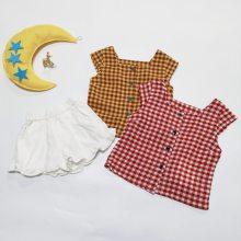 芒朵 童装夏季森女特价 儿童套装 品牌童装折扣货源 大品牌童装 外贸品牌童装折扣店