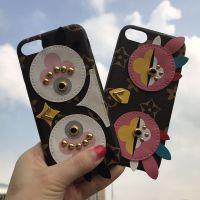 新款iPhone7plus手机壳苹果6s欧美***爱情鸟呆萌鸡R9S防摔保护套