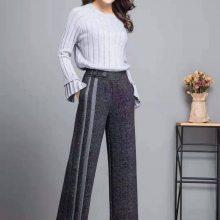 郑州高品质大码女裤娣娜姿品一手货源 品牌折扣女装拿货 广州女装批发市场