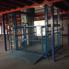 厂家供应液压式升降机_导轨式液压升降货梯 价格合理