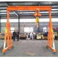 手动小型龙门架型号 吊模具龙门吊规格