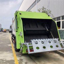 国六12吨压缩垃圾车 12方压缩垃圾车生产厂家 楚胜牌压缩垃圾车