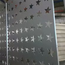 商业街连锁店门头冲孔造型铝单板 2.0厚定制