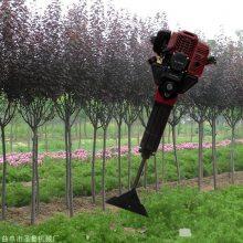 福建操作链条挖树机 圣鲁轻便挖树机 批量生产起树机