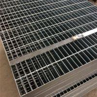 镀锌钢架板 楼梯踏步板安装 平台钢格栅价格