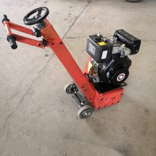 柴油动力混凝土拉毛机 铣刨深度1公分的铣刨机 大型液压式铣刨机