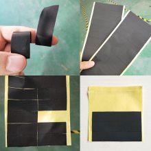 醋酸布长方形电工胶布 绝缘胶布 耐高温阻燃乌黑色工业胶带123456cm定制模切厂家创新高轻胶福永