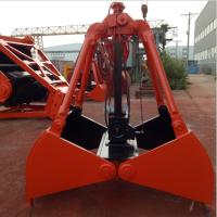 厂家直销 起重机单绳机械抓斗 电动不锈钢抓斗 欢迎选购