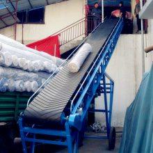 供应移动式高低可调80公分宽带式输送机_全自动粮食输送机