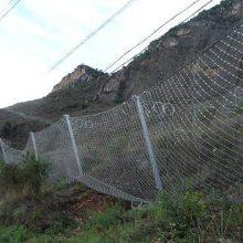 成都边坡防护网施工单位植草护坡钢丝绳网防护网高速两侧护坡网