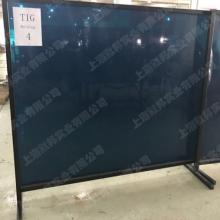 默邦国内焊接防护专业品牌防弧光PVC板,焊渣隔挡屏风