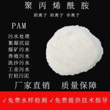 黑河道污水淤泥处理用絮凝剂 聚丙烯酰胺 PAM 阴离子