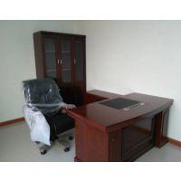 洛阳雷业办公家具老板桌简约现代时尚经理桌主管桌单人办公桌椅组合老板台
