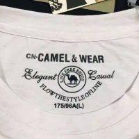 中国骆驼品牌男款短袖T恤批发