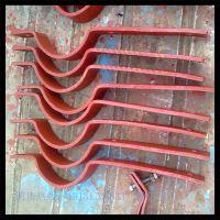 沧州汇鹏 A7保温管用三螺栓管夹 A8支托用三螺栓管夹