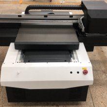 6090平板打印机 DETU/得图UV喷绘机 小型印刷彩绘平板打印机 胸牌印刷机