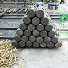 常宁生产制作优质仿木桩 精制各种水泥护栏等