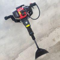 汽油动力链条式挖树机 便携式苗圃移树机型号 断根起土球起树机