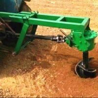 拖拉机挖坑机 车载式挖坑机 多功能汽油地钻打坑机