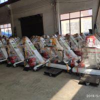 小型收谷机 手推式收谷装袋机 晒场粮食自动收集装袋机