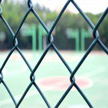 体育场护栏 绿色操场护栏 体育场钢丝护栏