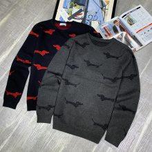 秋冬装新款高领卫衣男 韩版潮加绒加厚针织衫修身打底毛线衫