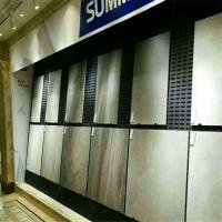 上海市洞洞板展示架 800*600陶瓷展架价格 地砖展板加工定做