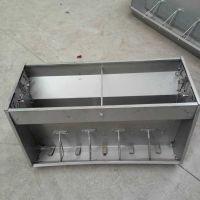 不锈钢料槽 不锈钢双面料槽 育肥猪专用双面食槽