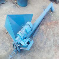 搅拌机配套管道式上料机 倾斜送料绞龙