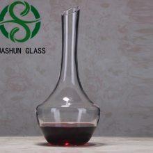 水晶玻璃壶 大肚壶 红酒葡萄酒醒酒器 1400ml