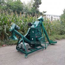 高粱玉米五谷杂粮粉碎机 曲药粉碎机 粮食压扁机价格 螺旋式上料机