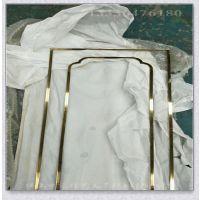 定制澳门酒吧夜场影楼钛金不锈钢相框画框镜框 不锈钢相框