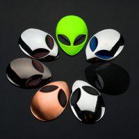 汽车个性3D立体车贴 外星人车标改装车贴车身贴 ET UFO 第五元素