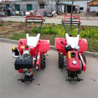 轻便小型家用微耕机 带转向四驱自走式微耕机