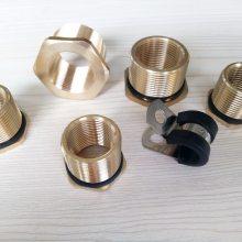 建筑工程用黄铜变径接头 PG21-M20补芯接头批发