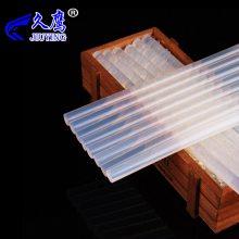 透明 环保型热熔胶棒 胶条热熔胶棒 透明7mm 11mm现货高粘
