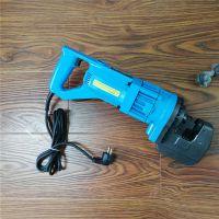 小型手提式电动冲孔机 便携式角铁打孔机 工地钢板槽钢电动冲孔机