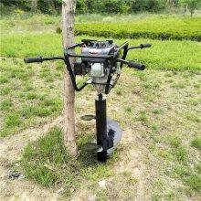 产品推荐动力强劲四冲程挖坑机 野外田地种植打眼机 7马力螺旋打窝机