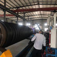 湖南克拉管厂家 hdpe缠绕增强b型管材节流承插生产