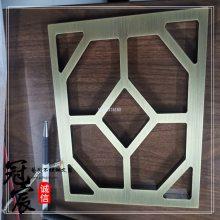 铜艺屏风 高级纯铜雕刻屏风 实心铜板屏风隔断 中式铜板镂空屏风