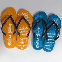 拖鞋生产厂家批发橡胶人字带拖鞋 EVA材质拖鞋 订做男女夹脚拖鞋