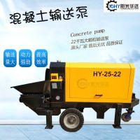 液压式二次构造柱上料机 砂浆水泥浇筑 小型混凝土螺旋输送泵