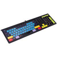 壁虎忍者KB460-PS超薄静音有线键盘 PS设计快捷键盘
